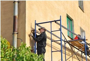 Ремонт фасадов заделка трещин